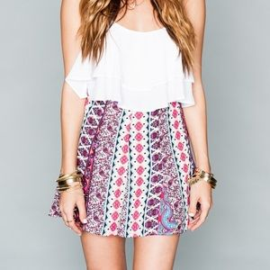 Show Me Your Mumu Skater Mini Skirt
